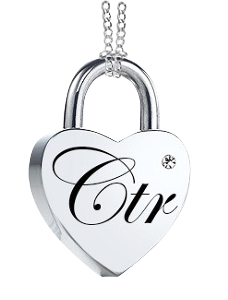K11 CTR Love Lock Necklace