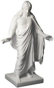"LDS Cultured Marble 3"" Christus Statue"