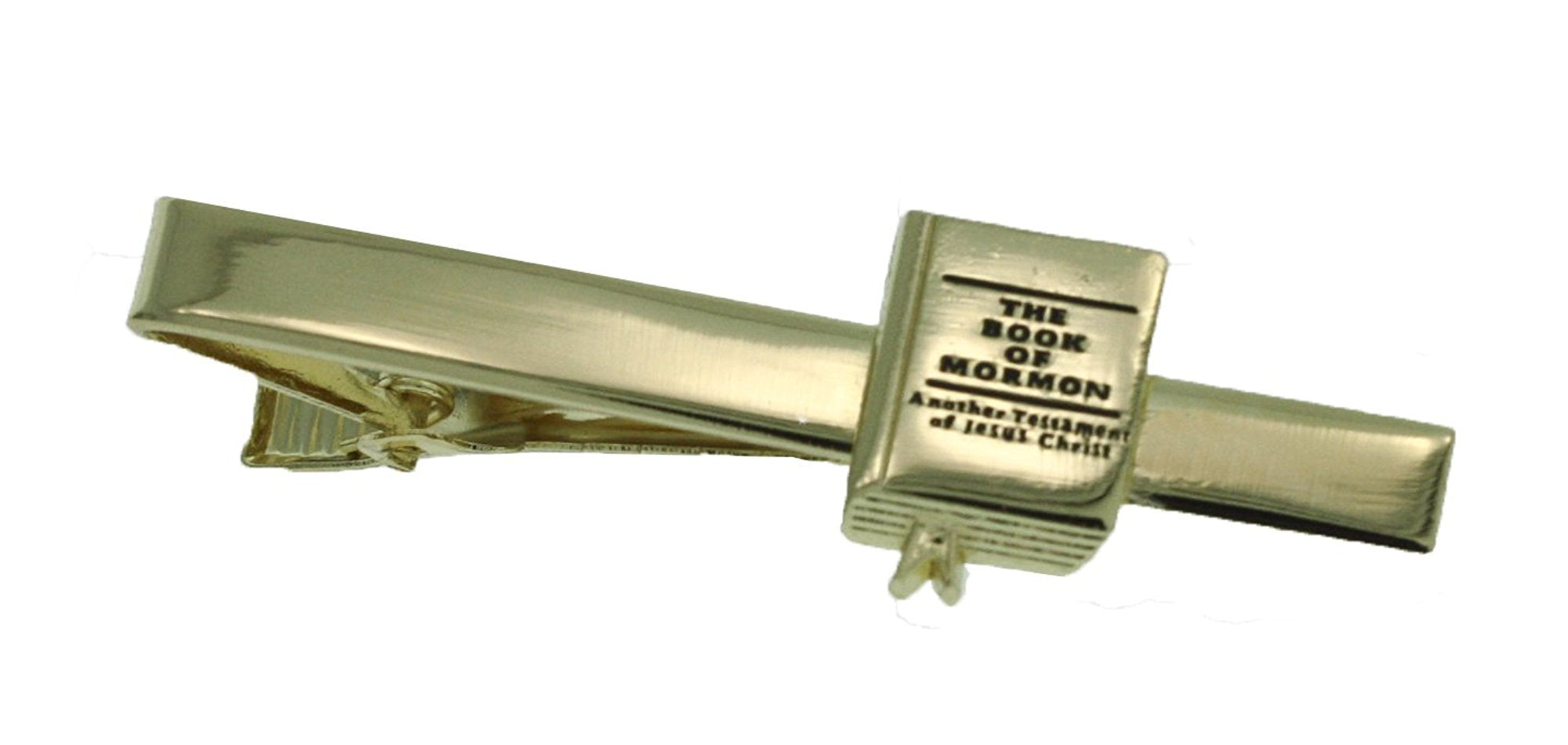 One Moment In Time J9TB LDS CTR Sunstone Silver Tone Tie Bar Alloy