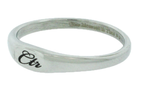 """Pixi"" - Stainless Steel CTR Ring - CTR Ring - J183"