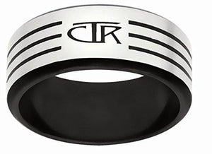 "J171 ""Slice"" Stainless Steel CTR Ring"
