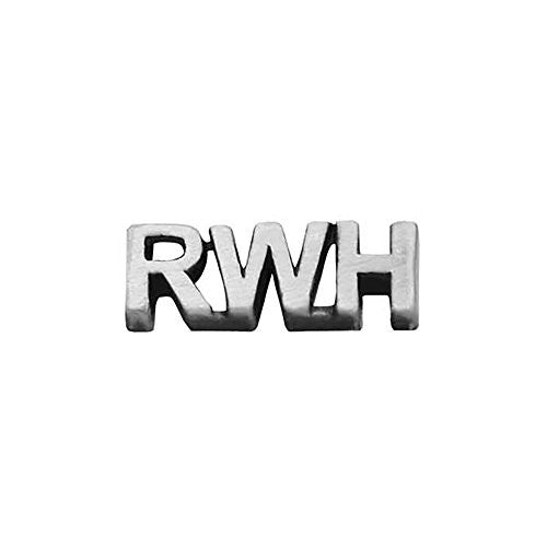 Pin Tie Tack RWH Return With Honor Antique Silver