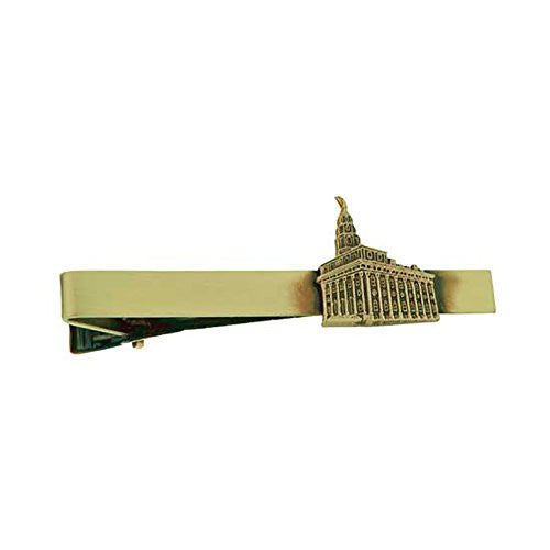 Tie Bar Nauvoo Temple Antique Gold J107TBAG