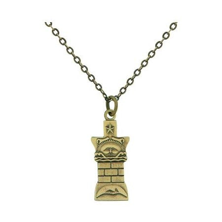 J13 ctr Necklace Nauvoo Temple Pillar Gold