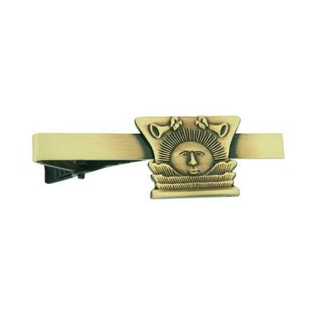 "Tie Bar "" Nauvoo Sunstone "" Gold - J11TB"