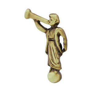 Pin Tie Tack Angel Moroni Antique Gold - J26AG