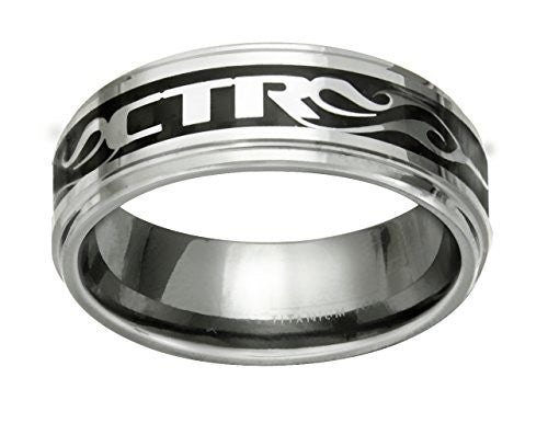 "J174 ""NFUZED"" Stainless Steel CTR Ring"
