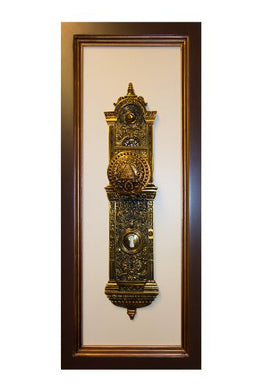 C6 Salt Lake Temple Doorknob (Actual Size) Framed One Moment in Time
