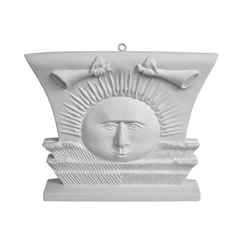 S340 Ornament, Nauvoo Temple Sunstone