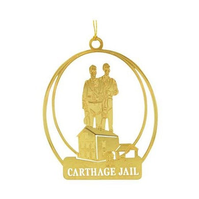 C28 Ornament Carthage Jail 24kt Gold Plate One Moment in Time