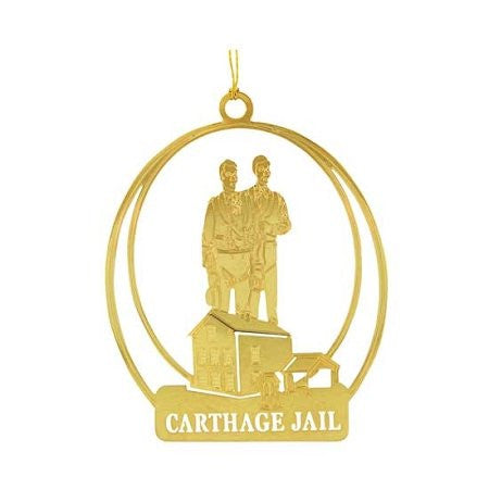 Ornament, Carthage Jail 24kt Gold Plate - C28