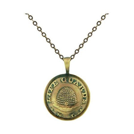 Necklace Nauvoo Legion Button Gold - J22