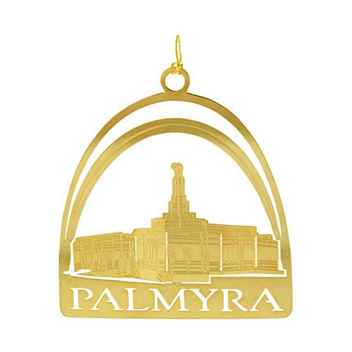 Ornament Palmyra Temple Plate Gold