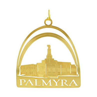 C29 Ornament, Palmyra Temple 24kt Gold Plate One Moment in Time
