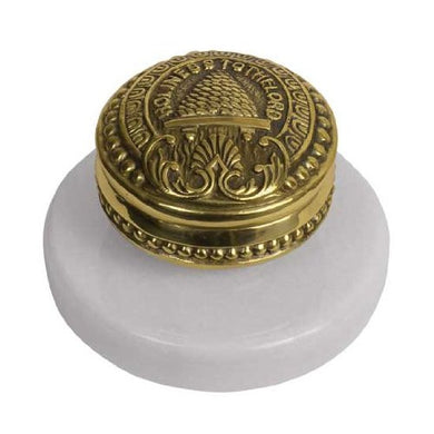 C10 Salt Lake Temple Doorknob w/Marble Base One Moment in Time