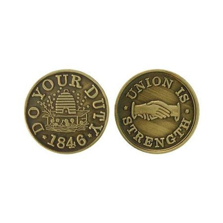 Do Your Duty Token 1846 Union Is Strength - M8