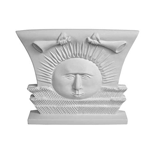 S34O Nauvoo Temple Sunstone Ornament White