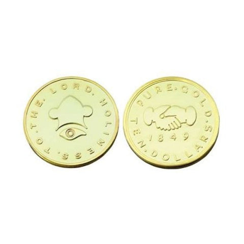 $10.00 Mormon Gold Coin Replica - M6