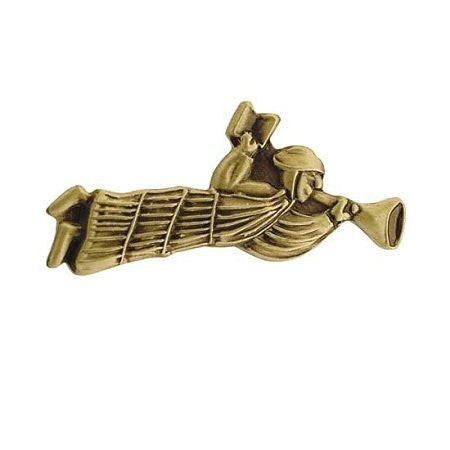 J105AG Pin Tie Tack Nauvoo Angel Gold