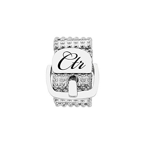Sparkle Stretch Buckle CTR Ring J166