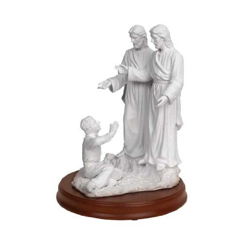 "S10 Joseph Smith First Vision Statue 11"" 3 Personages"