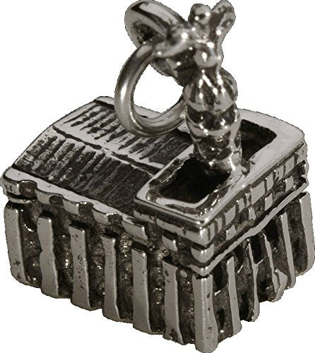 J41 Sterling Silver Nauvoo Temple Charm