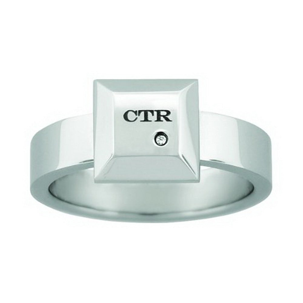 J132 - CTR Choose the Right Ring Stainless Steel
