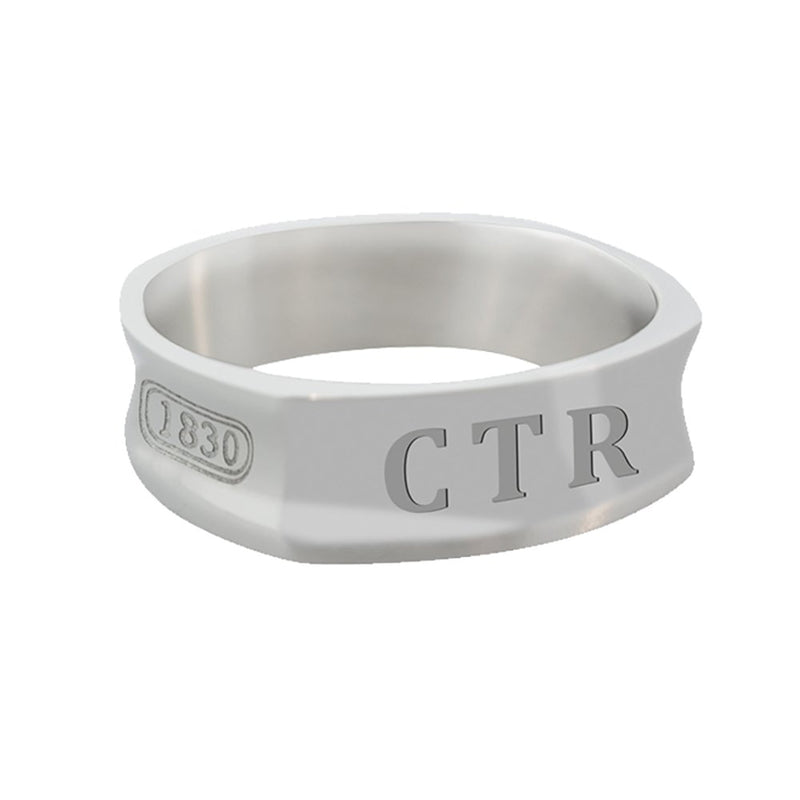 J101R CTR Ring Stainless Steel 1830 Round