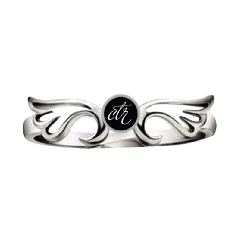 J131 CTR Ring Stainless Steel Aura