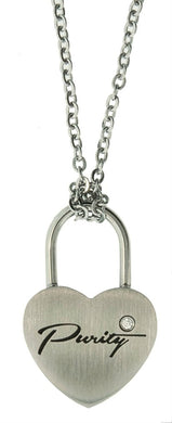 CH11 Necklace Purity Love Lock One Moment in Time
