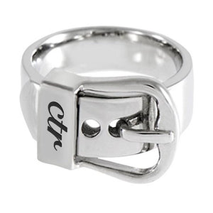 "J150 - CTR RING Stainless Steel ""Buckle"""