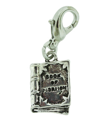 H7 - Book of Mormon Charm Antique Silver Tone