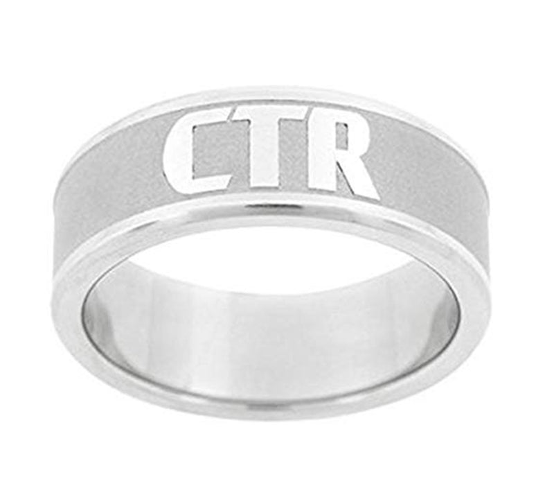 J151 Frost CTR Ring Stainless Steel