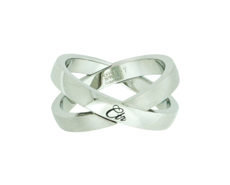 J192 Atom Stainless Steel CTR Ring