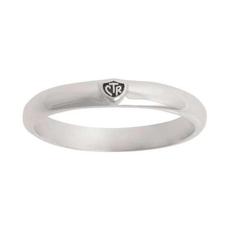 J60 CTR Ring Sterling Silver Worlds Smallest One Moment In Time