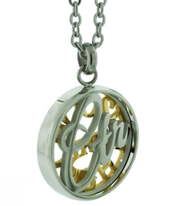 One Moment In Time K21 - CTR Necklace - Stainless Steel