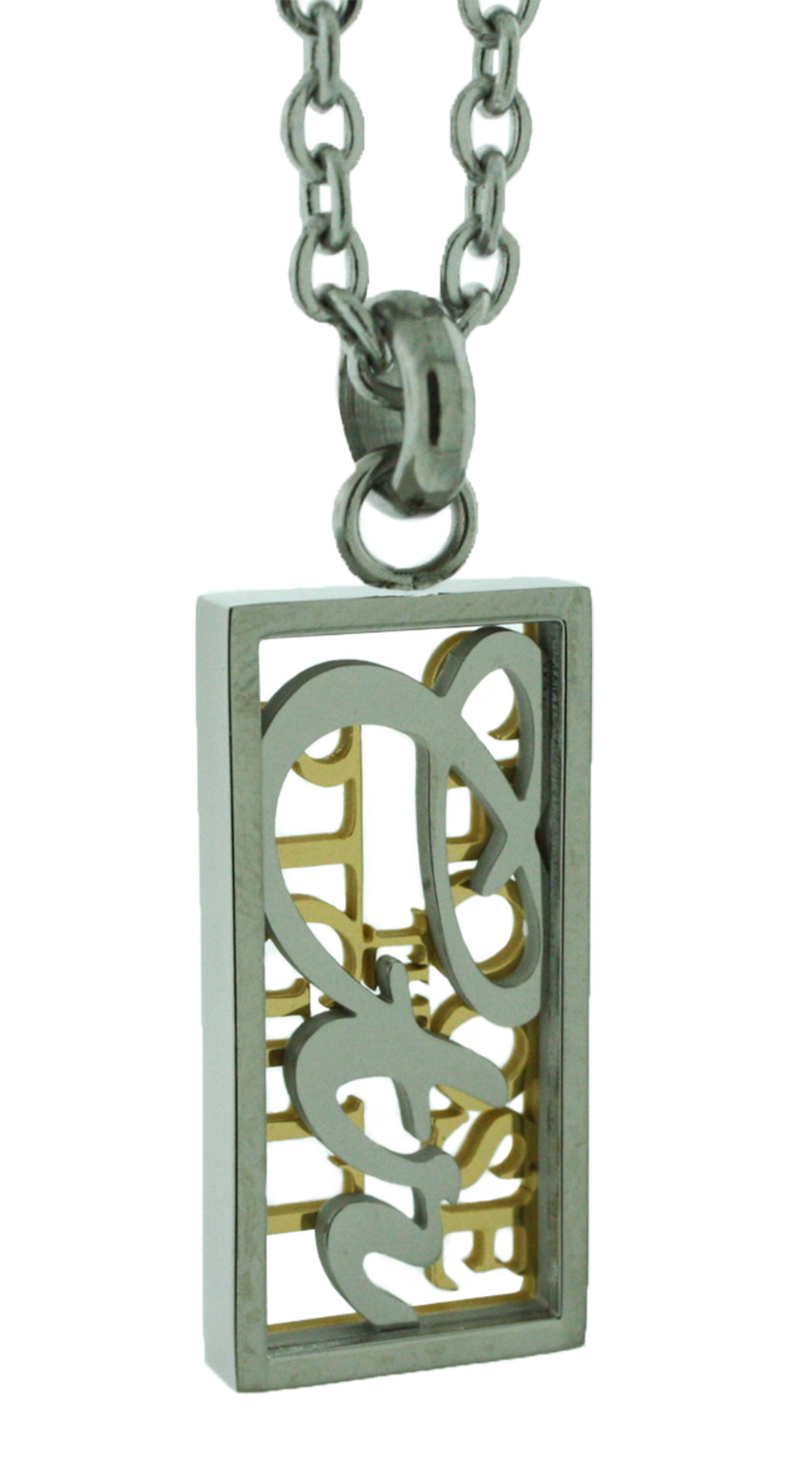 One Moment In Time K22 - CTR Necklace - Stainless Steel