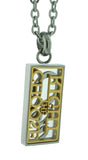 K22 CTR Necklace Stainless Steel One Moment In Time