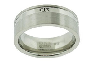 "J187 - ""Alpha"" Stainless Steel CTR Ring"
