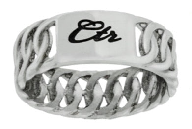 J193 Braid Stainless Steel CTR Ring