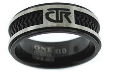 J120 Elements CTR Ring Titanium