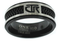 "Load image into Gallery viewer, ""Elements"" - CTR Ring - Titanium - J120 - One Moment In Time"
