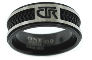 """Elements"" - CTR Ring - Titanium - J120 - One Moment In Time"