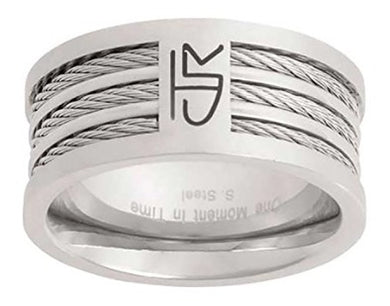 J121 CTR Choose the Right Ring Stainless Steel