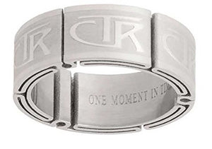 "J122 - CTR Choose the Right Ring Stainless Steel ""Aftershock"" inspired Designer"