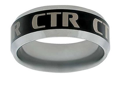 J124 - CTR Choose the Right Ring Titanium Ion