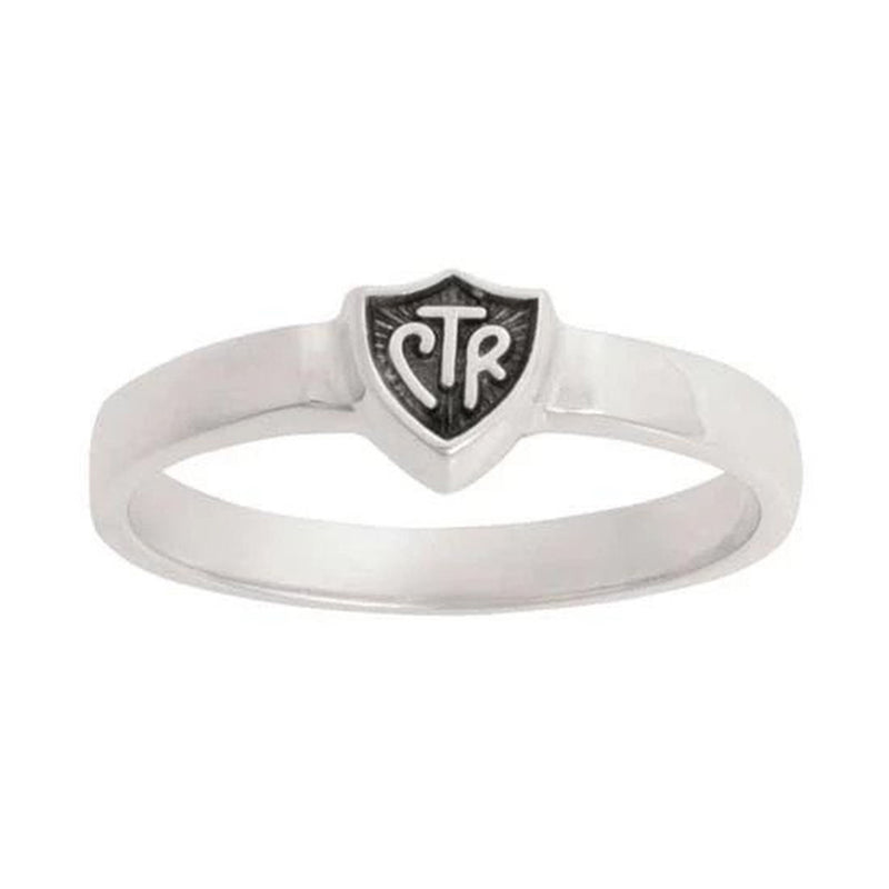 J58 CTR Ring Sterling Silver Retro Black Handmade One Moment In Time