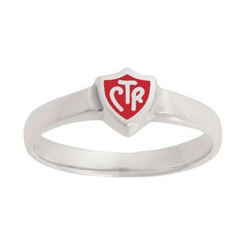J58R CTR Ring Sterling Silver Retro Red Handmade One Moment In Time