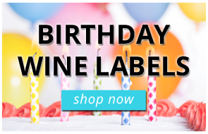 Birthday Wine Labels