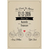 Bicycle - Wedding Wine Labels